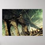 Puente de Brooklyn - New York City Poster