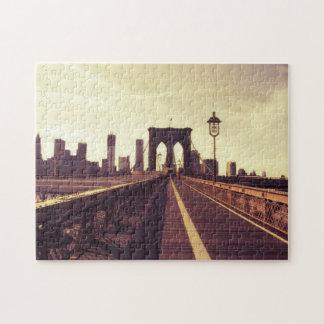 Puente de Brooklyn - New York City Rompecabezas