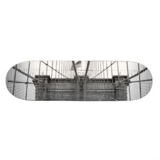 Puente de Brooklyn, New York City Skate Board