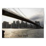 Puente de Brooklyn, Nueva York Felicitacion