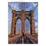 Puente de Brooklyn, Nueva York Felicitación
