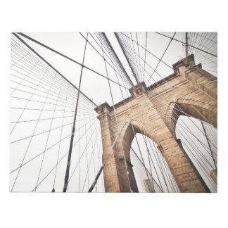 Puente de Brooklyn, Nueva York Libretas Para Notas