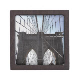 Puente de Brooklyn, Nueva York, NY, los E.E.U.U. 2 Caja De Recuerdo De Calidad