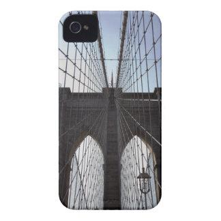 Puente de Brooklyn, Nueva York, NY, los E.E.U.U. 2 Case-Mate iPhone 4 Carcasa