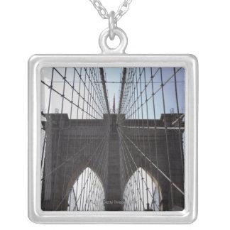 Puente de Brooklyn, Nueva York, NY, los E.E.U.U. 2 Grimpolas