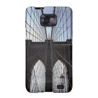 Puente de Brooklyn, Nueva York, NY, los E.E.U.U. 2 Samsung Galaxy S2 Funda