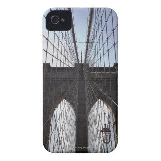 Puente de Brooklyn, Nueva York, NY, los E.E.U.U. 2 iPhone 4 Case-Mate Fundas