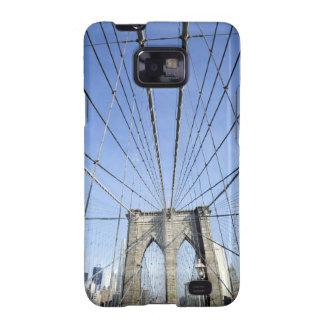 Puente de Brooklyn, Nueva York, NY, los E.E.U.U. Galaxy S2 Carcasa