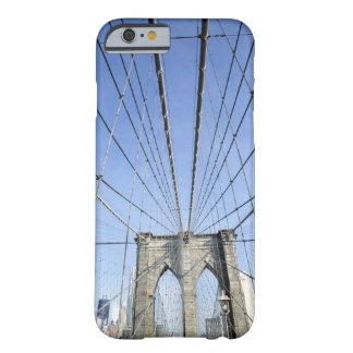 Puente de Brooklyn, Nueva York, NY, los E.E.U.U. Funda De iPhone 6 Barely There