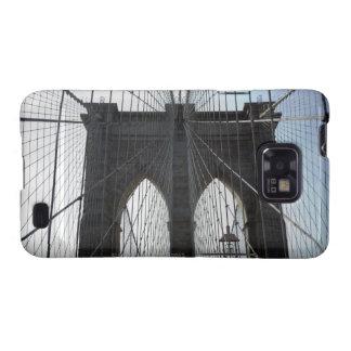 Puente de Brooklyn, Nueva York, NY los E.E.U.U. Galaxy SII Carcasa