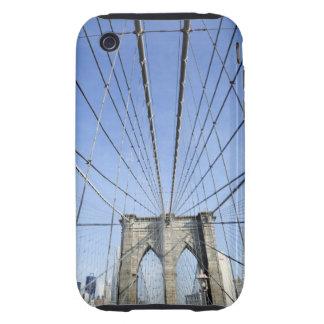 Puente de Brooklyn, Nueva York, NY, los E.E.U.U. Tough iPhone 3 Cárcasa