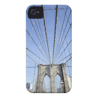 Puente de Brooklyn, Nueva York, NY, los E.E.U.U. iPhone 4 Carcasas