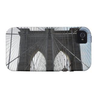 Puente de Brooklyn, Nueva York, NY los E.E.U.U. iPhone 4/4S Funda