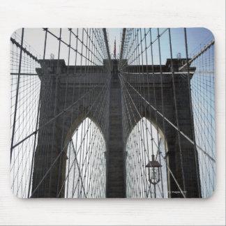 Puente de Brooklyn, Nueva York, NY los E.E.U.U. Mouse Pad