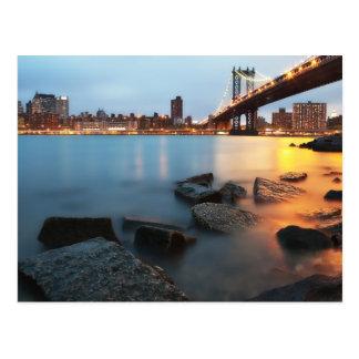 Puente de Brooklyn Nueva York Postal