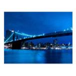Puente de Brooklyn, Nueva York Postales