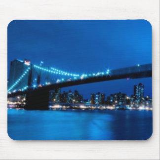 Puente de Brooklyn, Nueva York Tapete De Raton