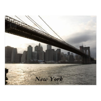 Puente de Brooklyn, Nueva York Tarjetas Postales