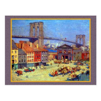 Puente de Brooklyn Nueva York Tarjetas Postales