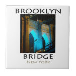 Puente de Brooklyn Nueva York Tejas Cerámicas