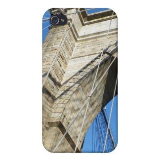 Puente de Brooklyn NY iPhone 4 Protectores
