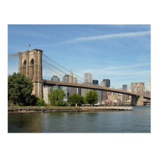 Puente de Brooklyn, NYC Tarjetas Postales