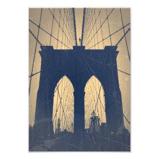 Puente de Brooklyn Fotografia