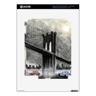 Puente de Brooklyn, piel del iPad 3 de los E.E.U.U iPad 3 Pegatina Skin