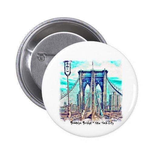 Puente de Brooklyn Pins