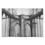 Puente de Brooklyn, placemat de NYC Mantel