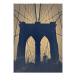 Puente de Brooklyn Poster
