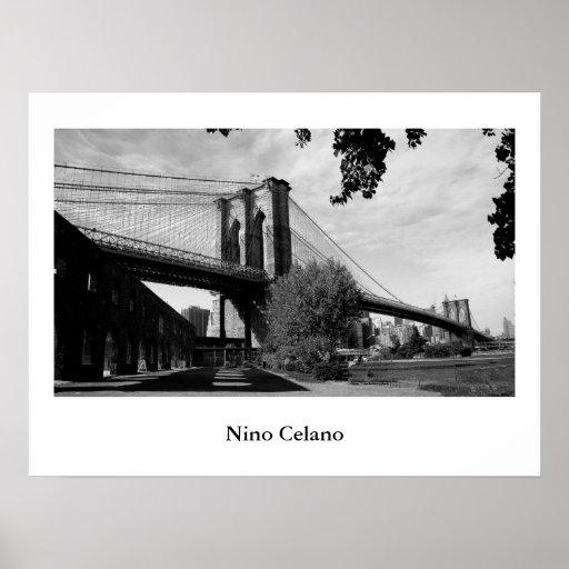 Puente de Brooklyn Poster