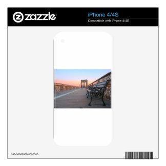 Puente de Brooklyn Skin Para El iPhone 4