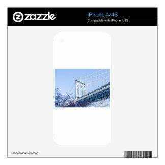 Puente de Brooklyn Skins Para eliPhone 4S
