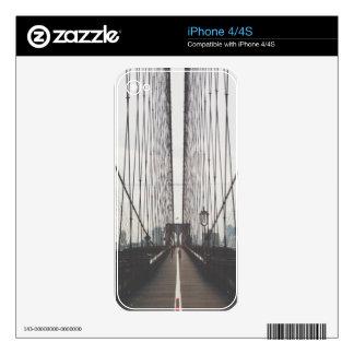 puente de Brooklyn Skins Para iPhone 4S