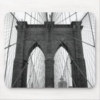 Puente de Brooklyn Alfombrilla De Ratón