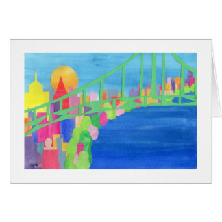 Puente de Brooklyn Tarjeta