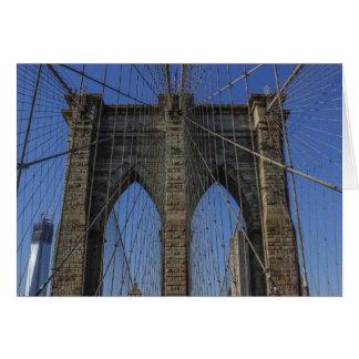 Puente de Brooklyn Tarjeta Pequeña
