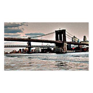 Puente de Brooklyn Tarjetas De Visita