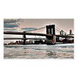 Puente de Brooklyn Tarjetas Personales