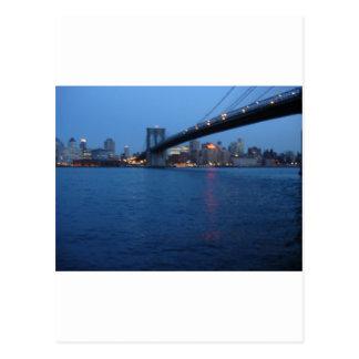 Puente de Brooklyn Tarjetas Postales