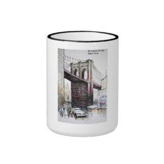 Puente de Brooklyn, taza de los E.E.U.U.