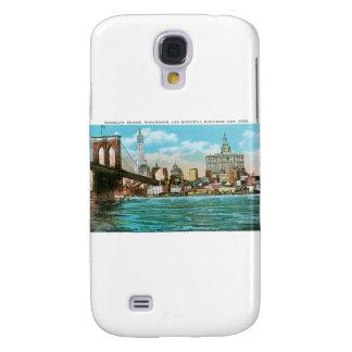 Puente de Brooklyn, Woolworth y Municipal… Carcasa Para Galaxy S4