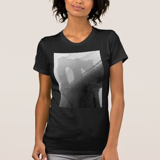 Puente de Brookyn: Niebla Camiseta