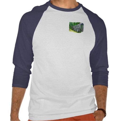 Puente de caballete camisetas