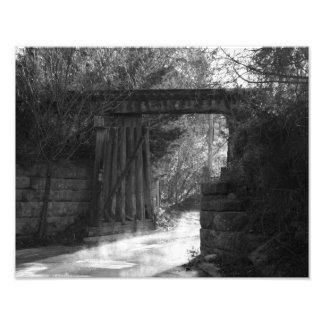 Puente de caballete fotografía