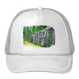 Puente de caballete gorras de camionero