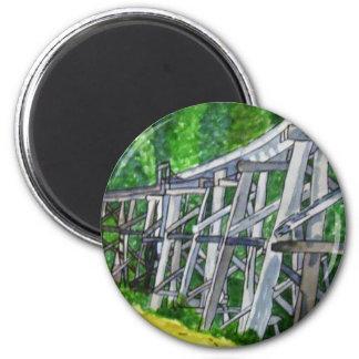 Puente de caballete imán redondo 5 cm