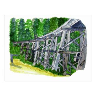 Puente de caballete tarjetas postales