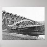 Puente de cadena: 1865 póster